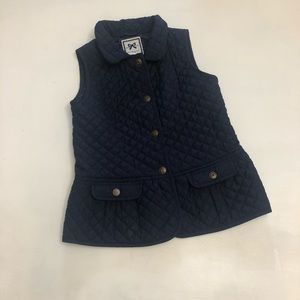 Gymboree Navy quilted Vest